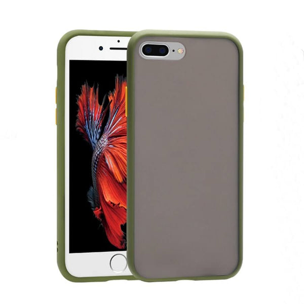 iPhone 7 & 8 Plus Matte Case - Olive Green