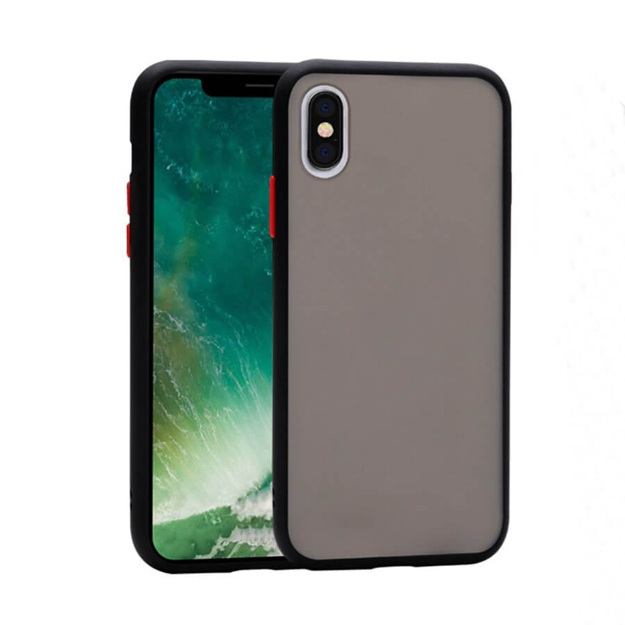 iPhone XS Max Matte Case - Black