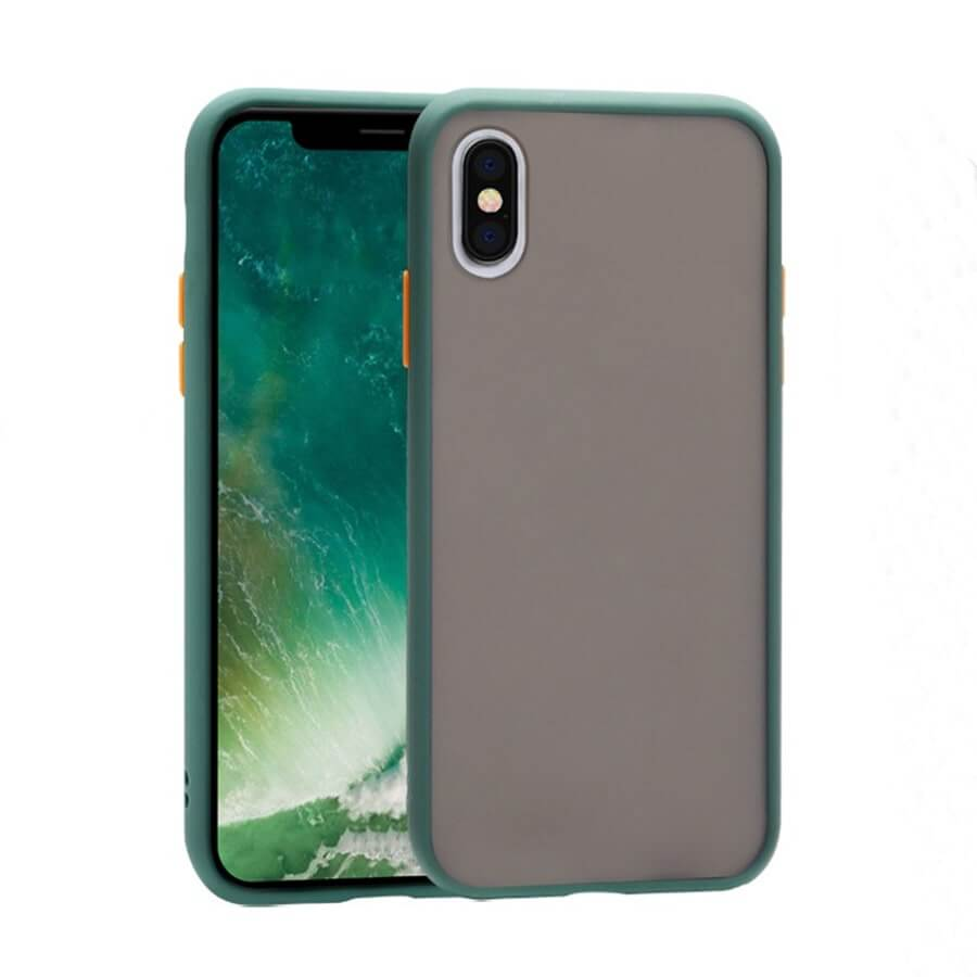 iPhone XS Max Matte Case - Green