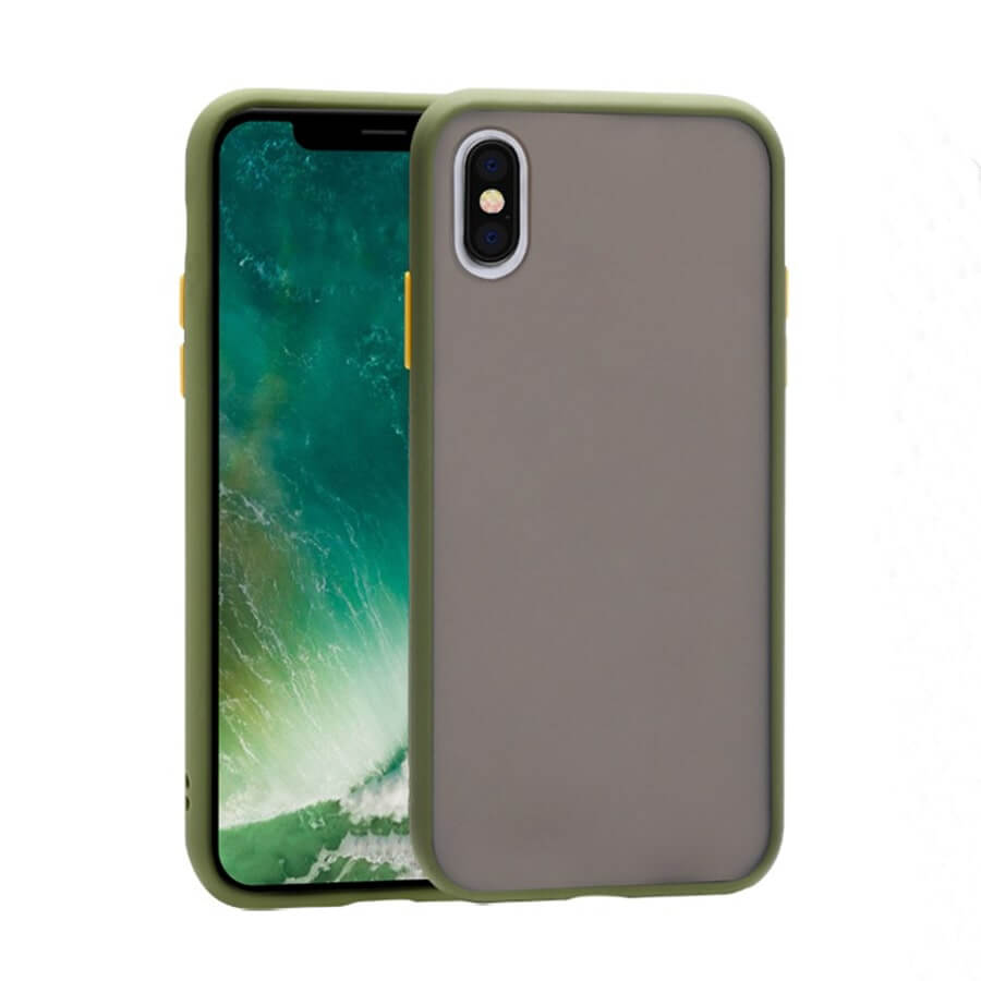 iPhone XS Max Matte Case - Olive Green