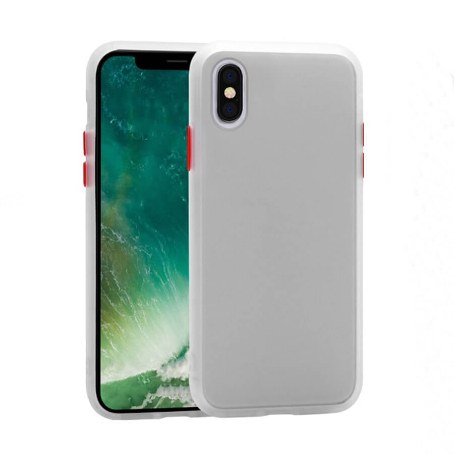 iPhone XS Max Matte Case - White
