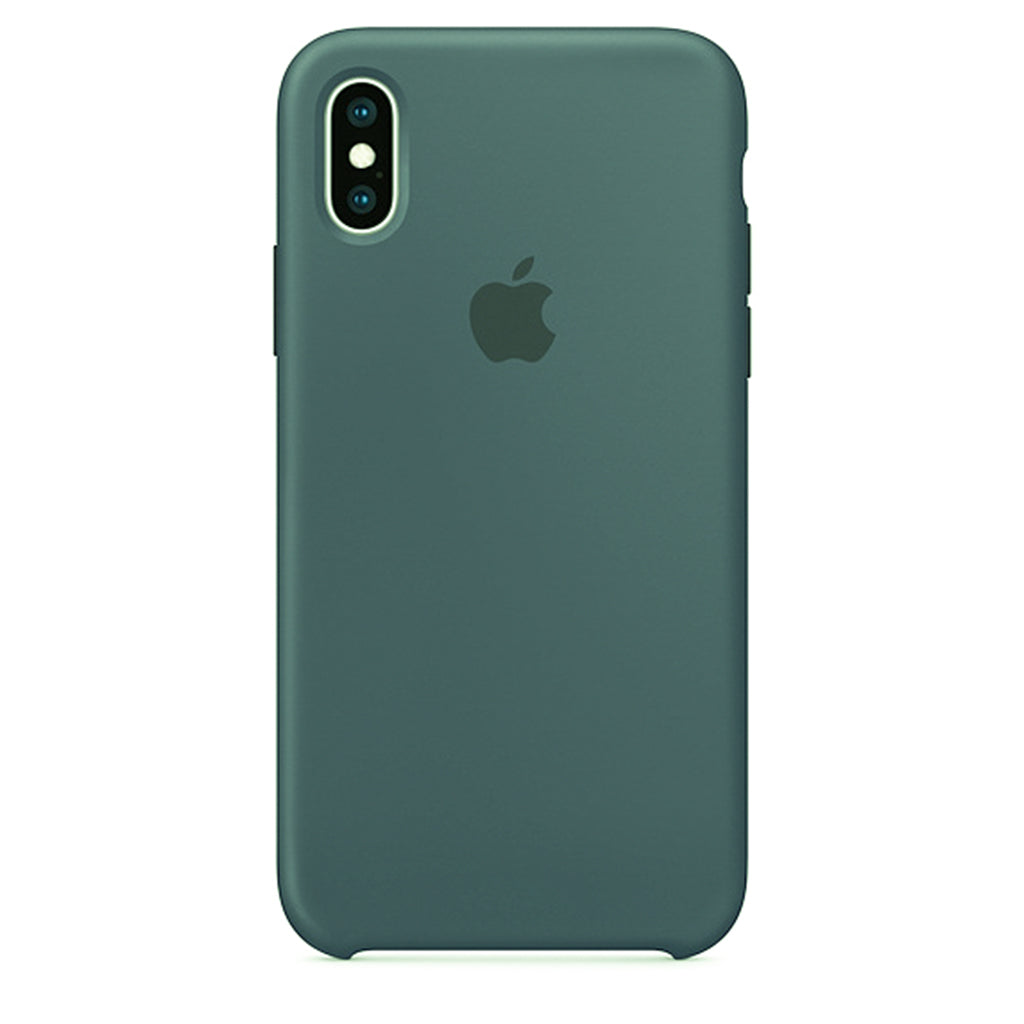 Green Liquid Silicone Case - iPhone XS
