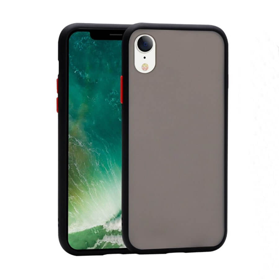 iPhone XR Matte Case - Black