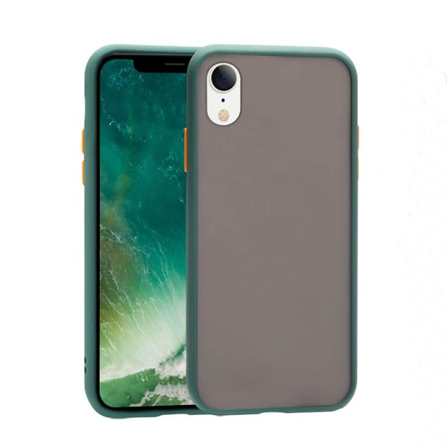 iPhone XR Matte Case - Green