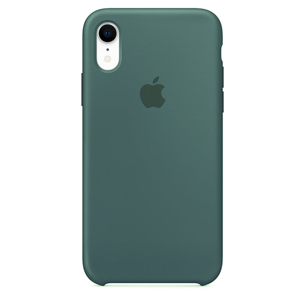 Silicone Case For iPhone XR - Green