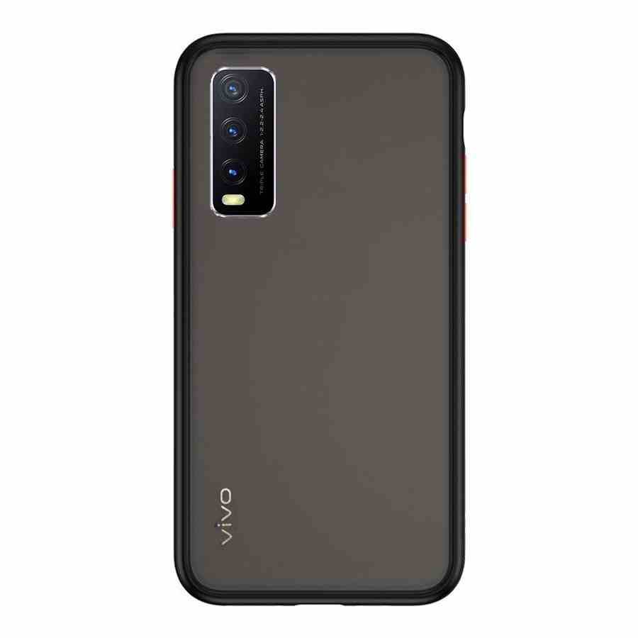 VIVO Y20 & Y20i Matte Cover - Black