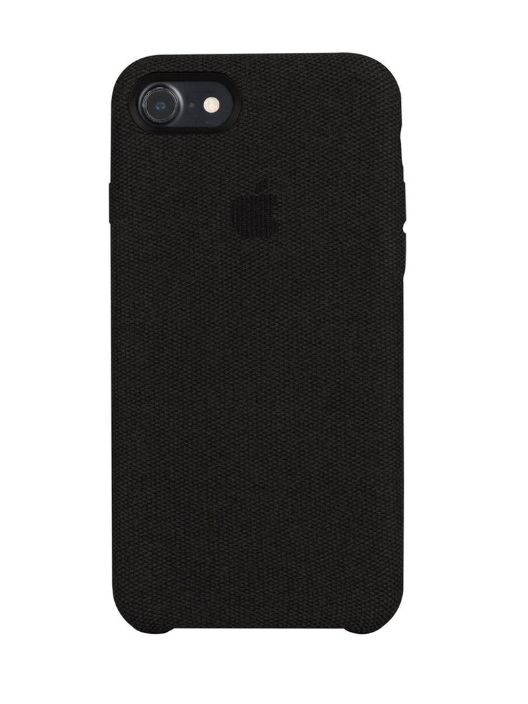 Fabric Case For iPhone 7 - Black - Mobilegadgets360