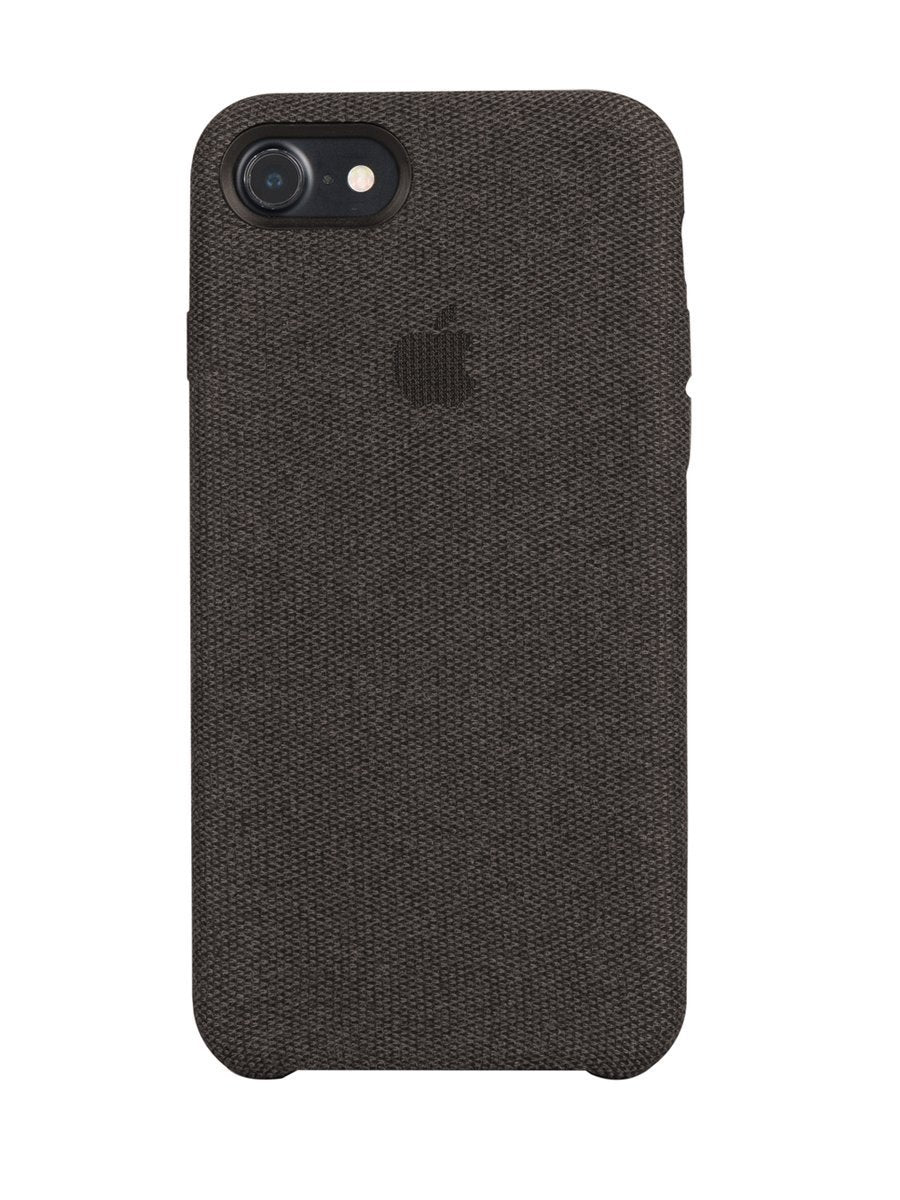 Fabric Case For iPhone 7 - Dark Grey - Mobilegadgets360