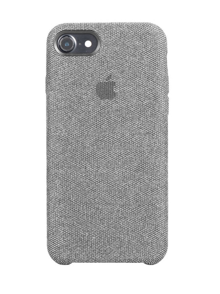 Fabric Case For iPhone 7 - Light Grey - Mobilegadgets360