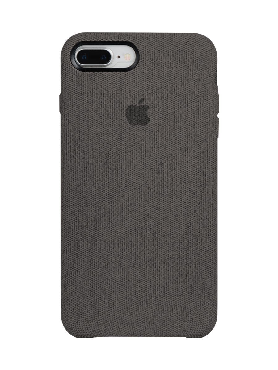 Fabric Case For iPhone 7 Plus - Dark Grey - Mobilegadgets360