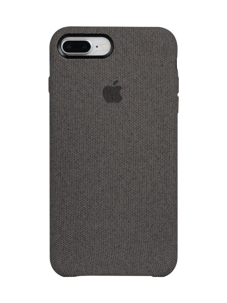 Fabric Case For iPhone 6S Plus - Dark Grey - Mobilegadgets360