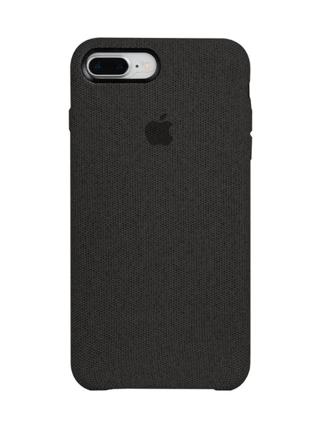 Fabric Case For iPhone 7 Plus - Black - Mobilegadgets360
