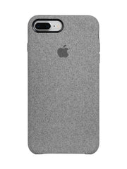 Fabric Case For iPhone 7 Plus - Grey