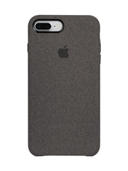 Fabric Case For iPhone 8 Plus - Grey - Mobilegadgets360