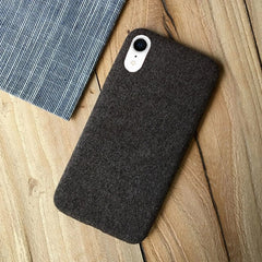 Black Fabric Case - iPhone XR - Mobilegadgets360