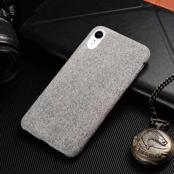 Cover Fabric iPhone XR