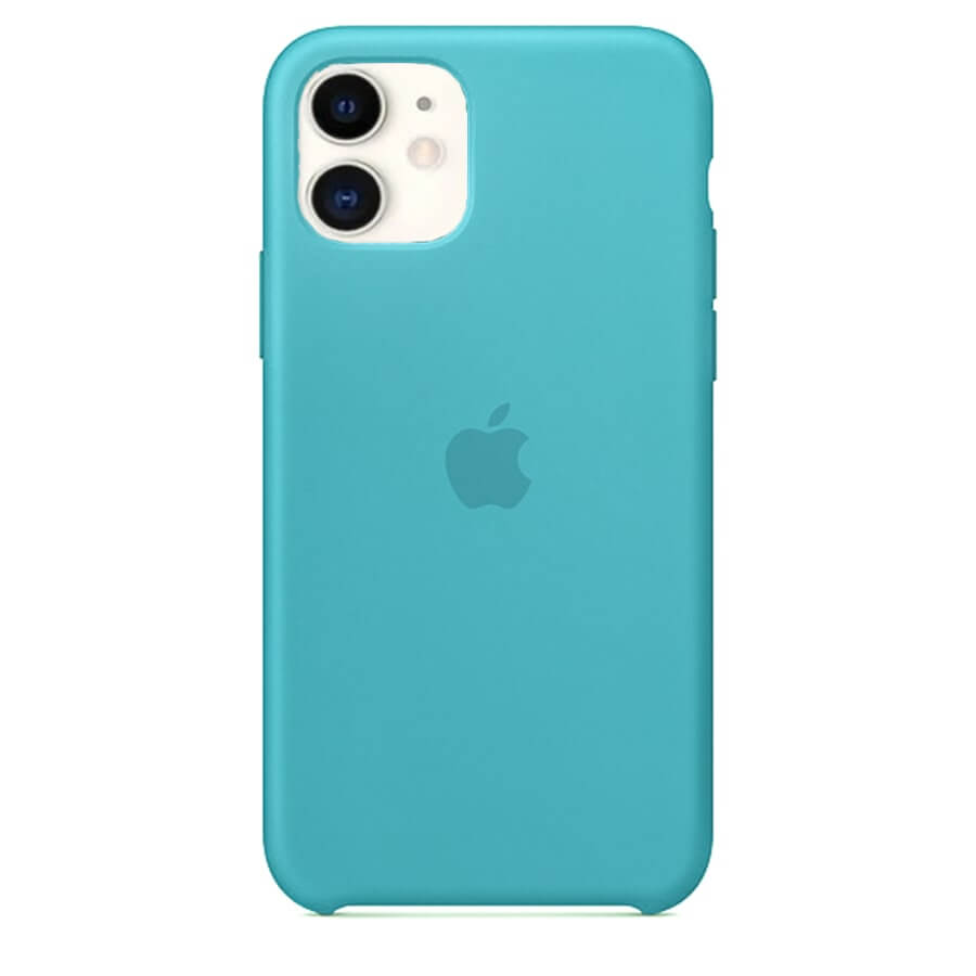 iPhone 11 Silicone Case - Robin Blue