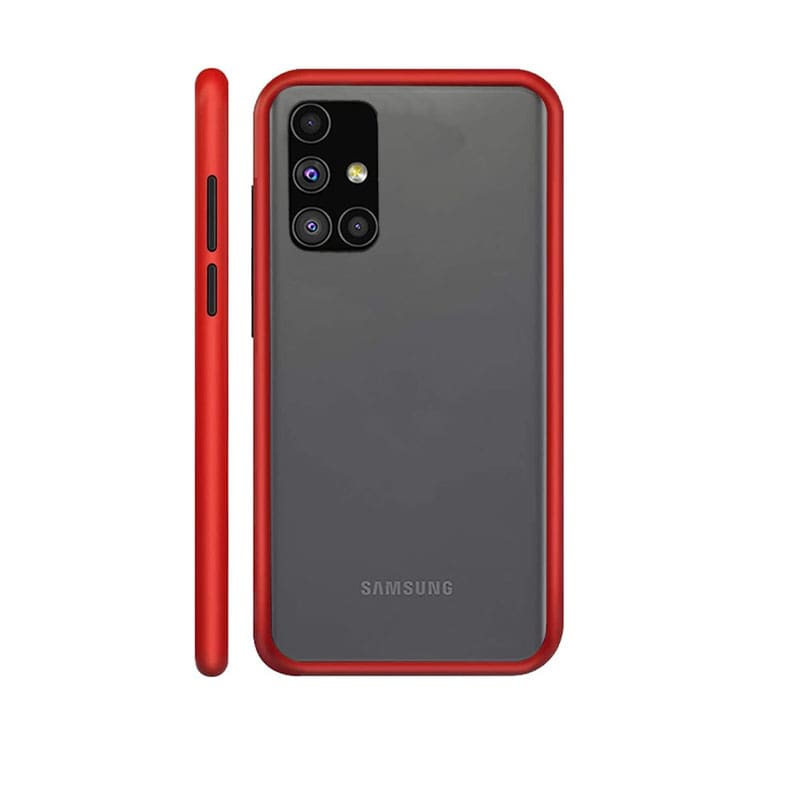 Red Matte Cover - Samsung A71