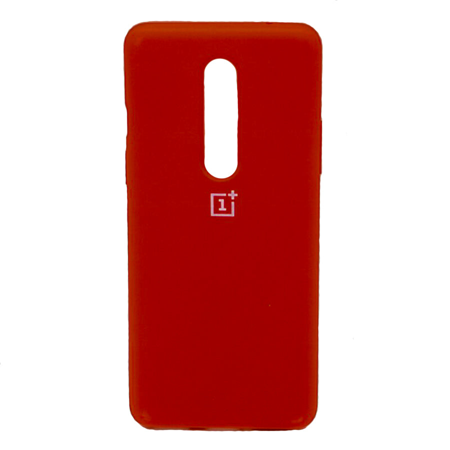 Silicone Case For OnePlus 8 - Red