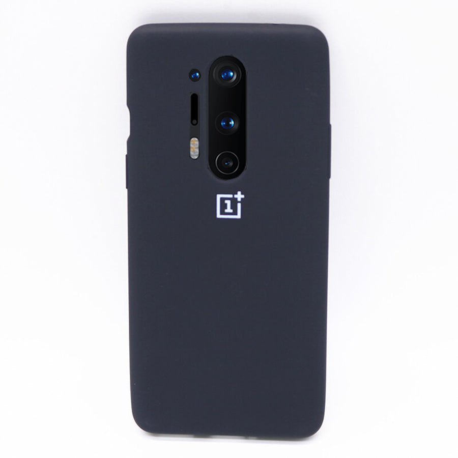 Silicone Case For OnePlus 8 Pro - Black
