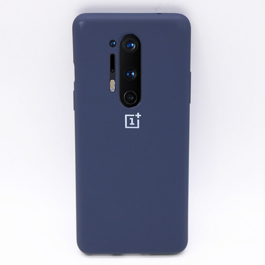 Silicone Case For OnePlus 8 Pro - Blue