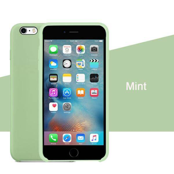 Mint Liquid Silicon Case - iPhone 8 - Mobilegadgets360