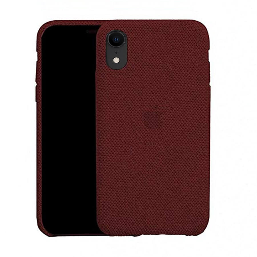 Red Fabric Case - iPhone XR