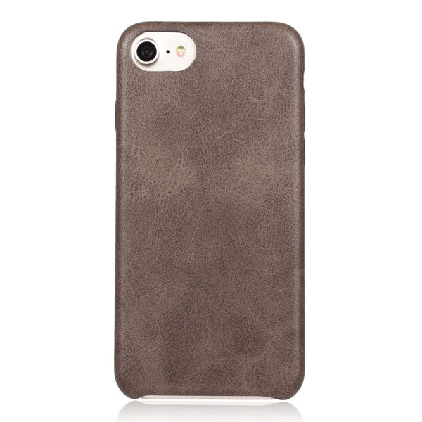 Holster Soft Leather Case For iPhone 6 / 6S - Brown - Mobilegadgets360