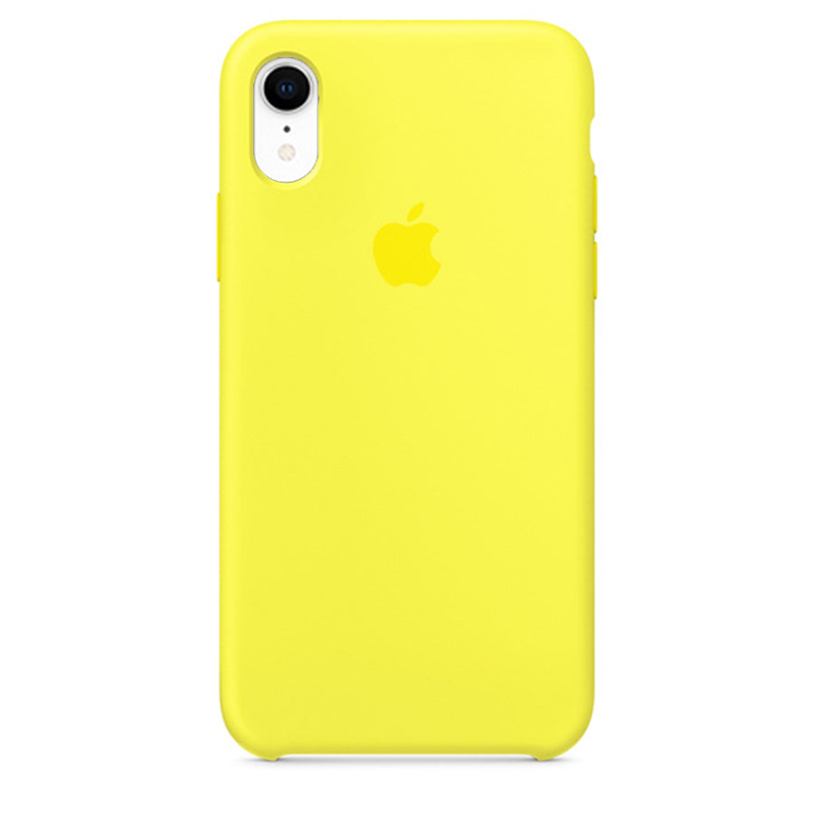 Silicone Case For iPhone XR - Yellow