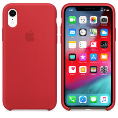 Silicone Case For iPhone XR - Red