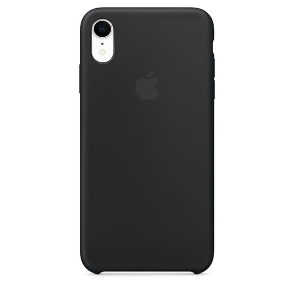 Silicone Case For iPhone XR - Black