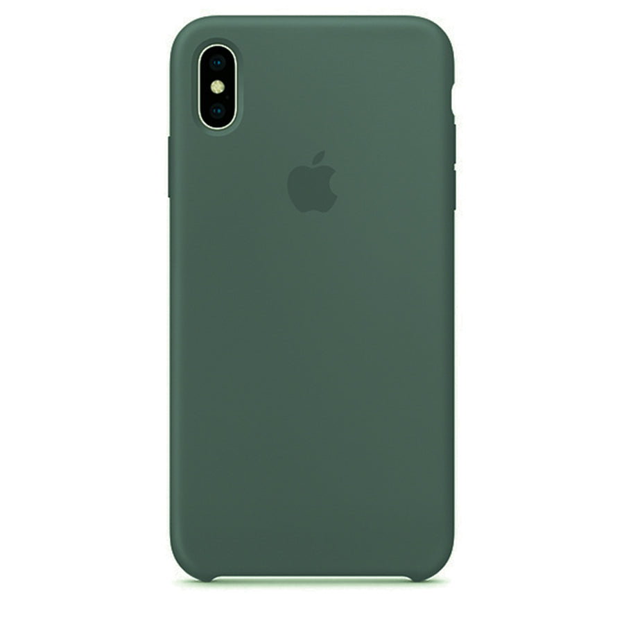 Silicone Case For iPhone XS Max - Green