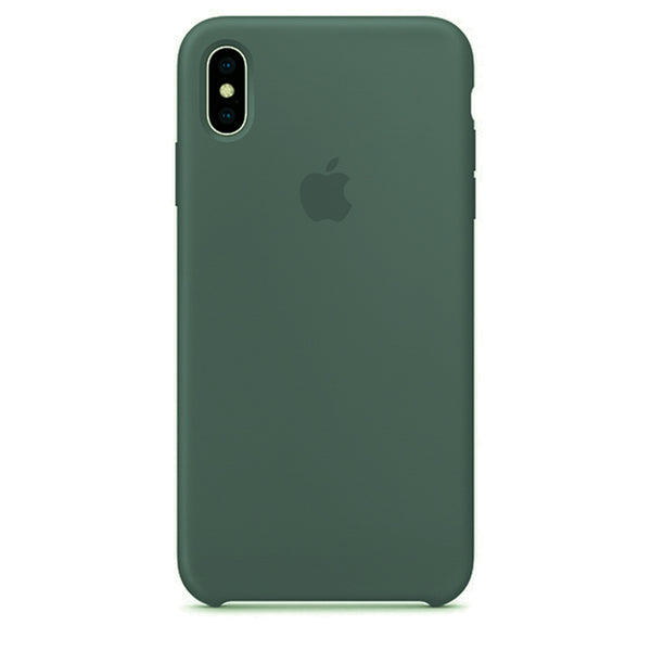 Green Liquid Silicon Case - iPhone XS Max