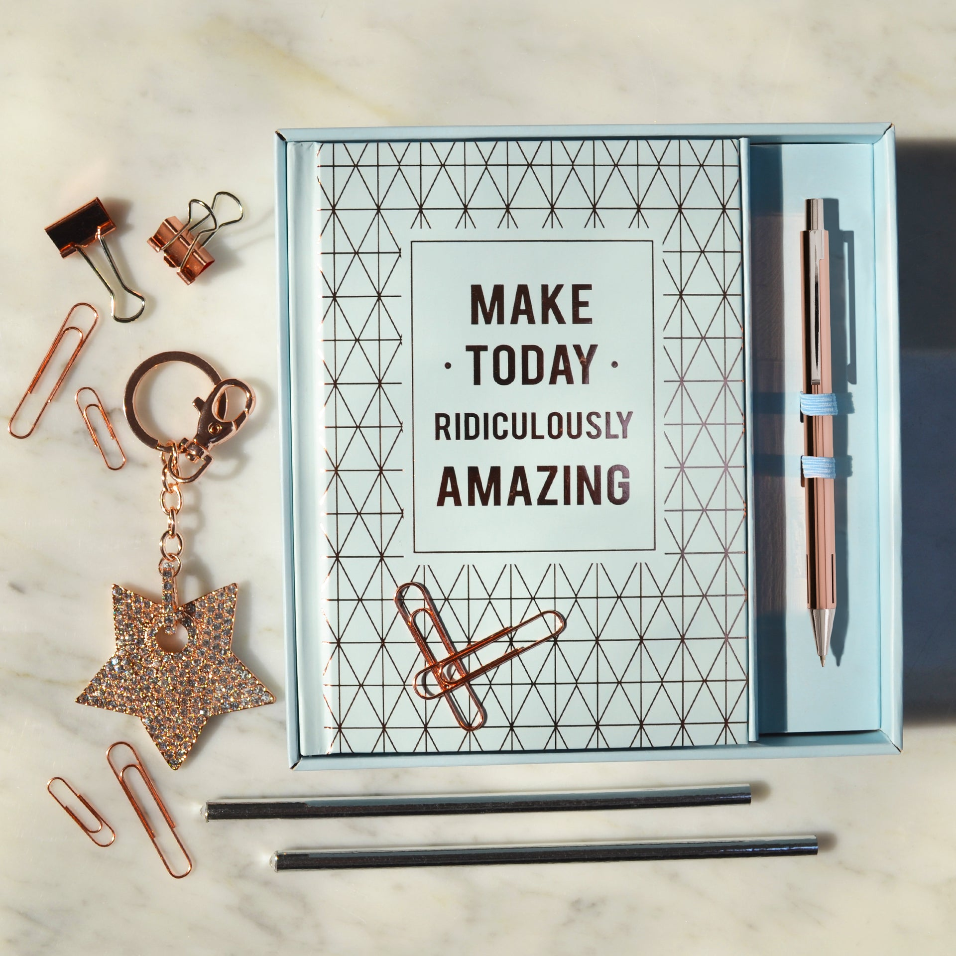 Make Today Ridiculously Amazing Gift Set - Blue