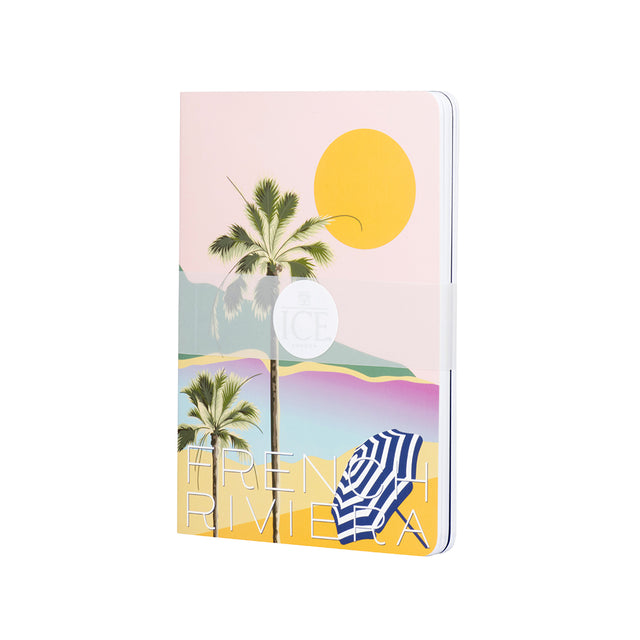 French Riviera Set of 3 A5 Notebooks