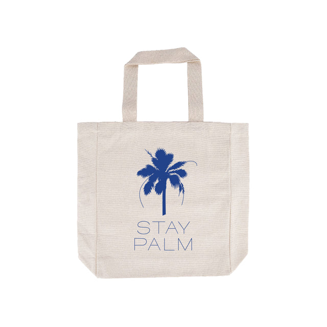 French Riviera Stay Palm Tote Bag