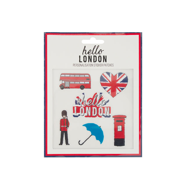 Hello London Sticker Patches