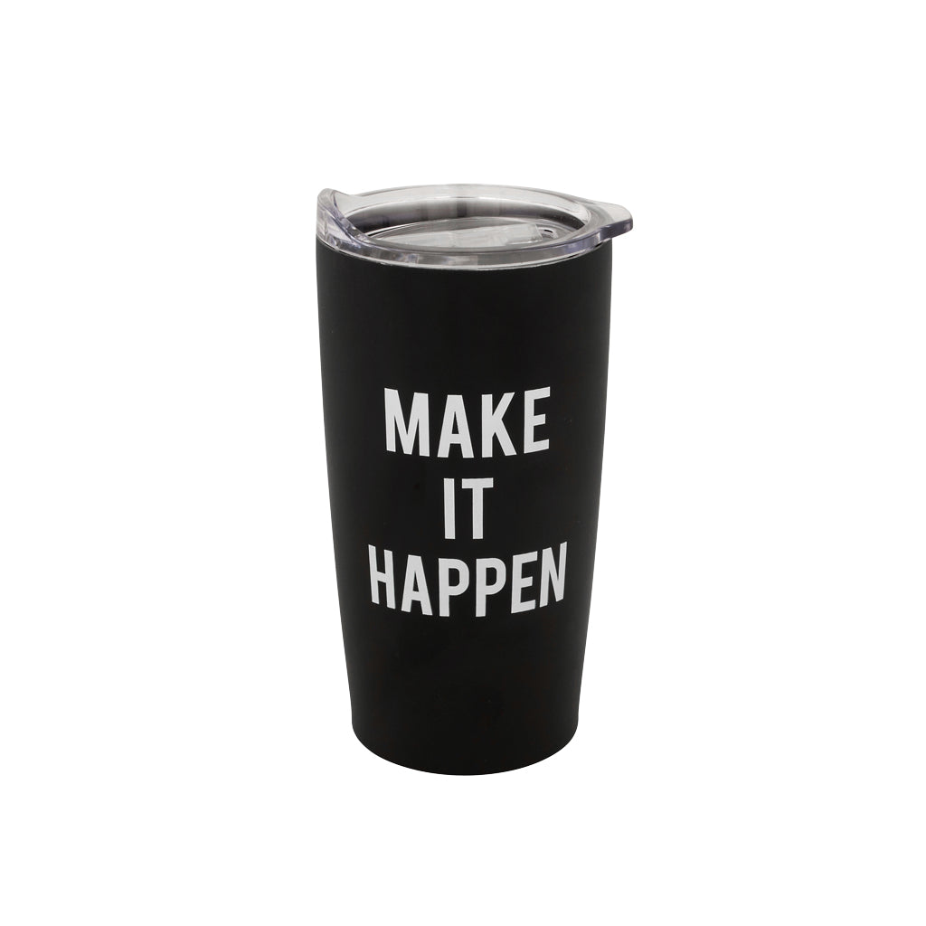 Make It Happen Tumbler - Black