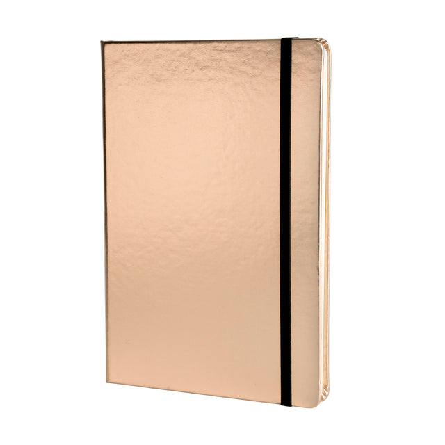 Metallic A5 Notebook - Rose Gold