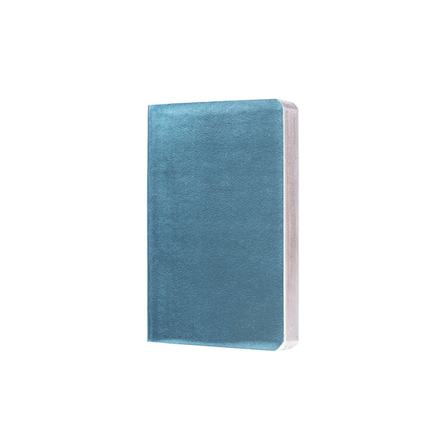 Metallic Notebook - Light Blue