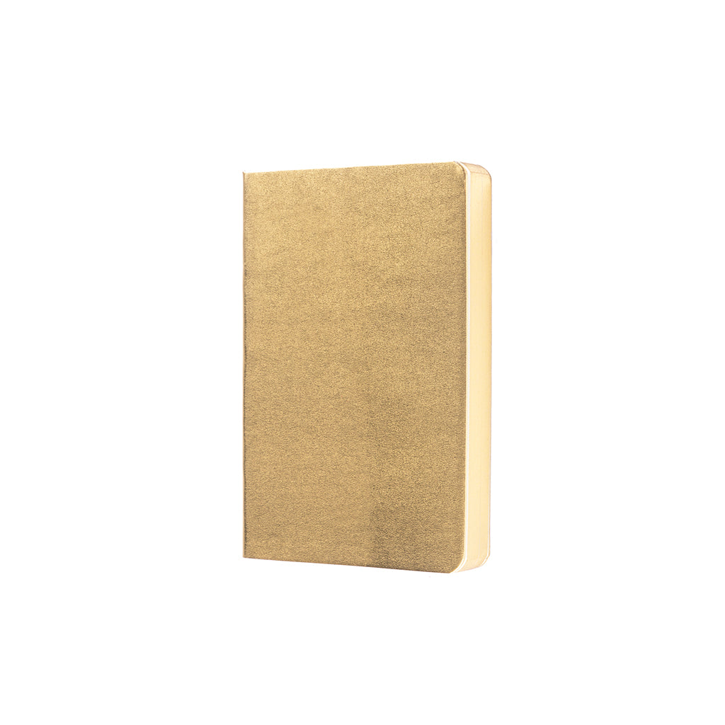 Metallic Notebook - Gold