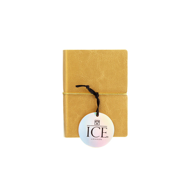 Mini Notebook - Gold