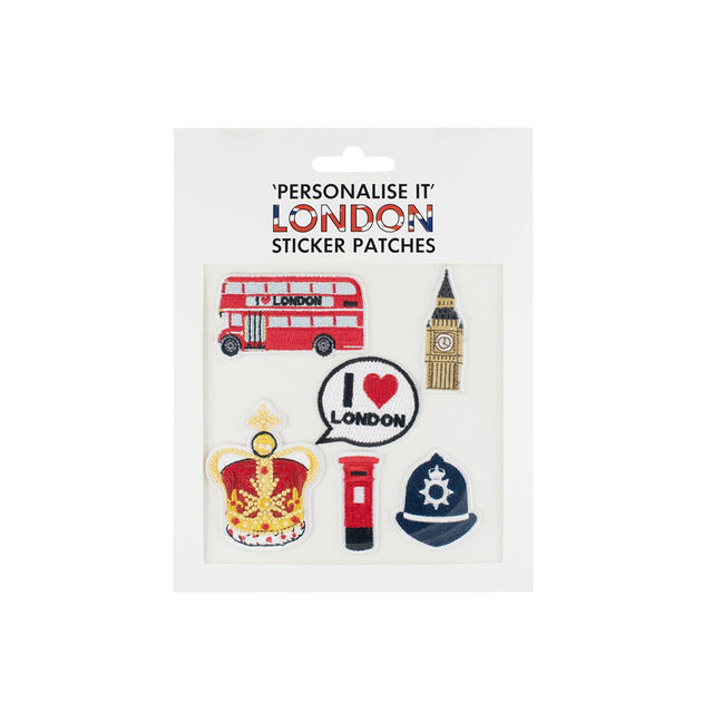 'Personalise It' London Sticker Patches