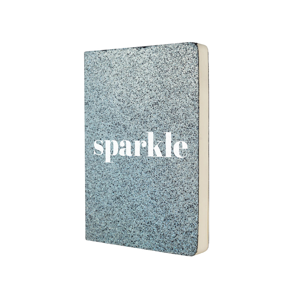 Sparkle Notebook - Blue