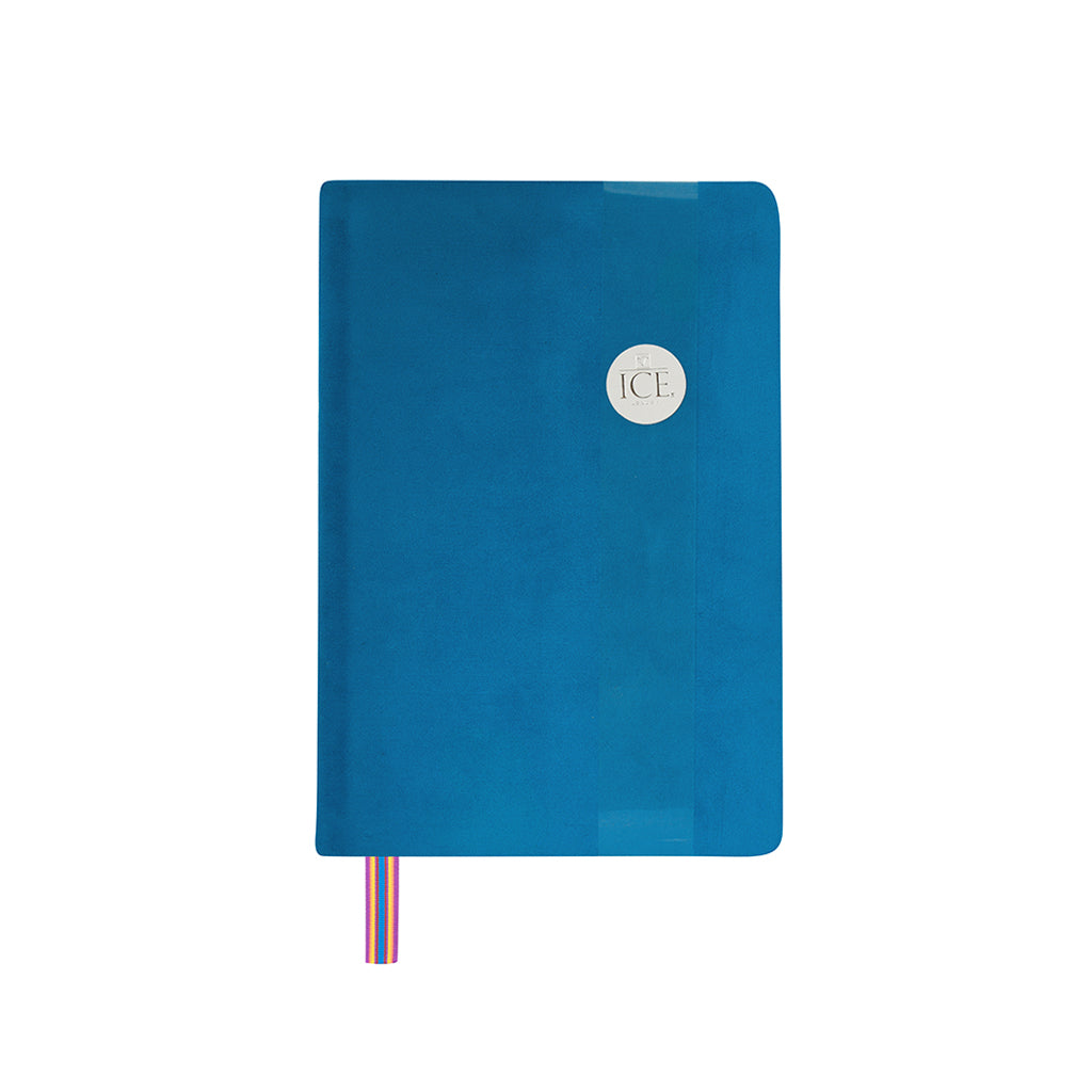 Royal Velvet Notebook - Blue