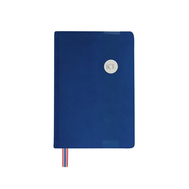 Royal Velvet Notebook - Navy