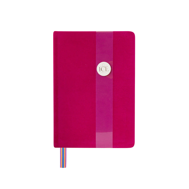 Royal Velvet Notebook - Pink