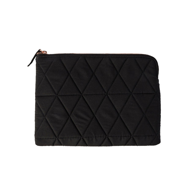 Quilted Flat Pouch