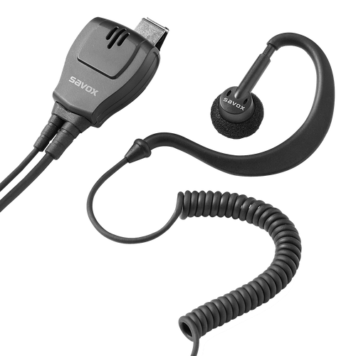 SEP-190 Universal Earpiece and Mic/PTT - For General Policing