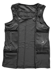 UCH-100 Covert Radio Vest - Full Covert Surveillance Vest